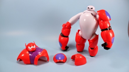 Baymax Armor up